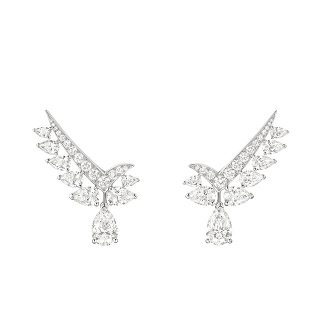 「ジョゼフィーヌ」コレクション ヴァルス アンペリアル イヤリング ¥11,440,000(税込・参考価格)