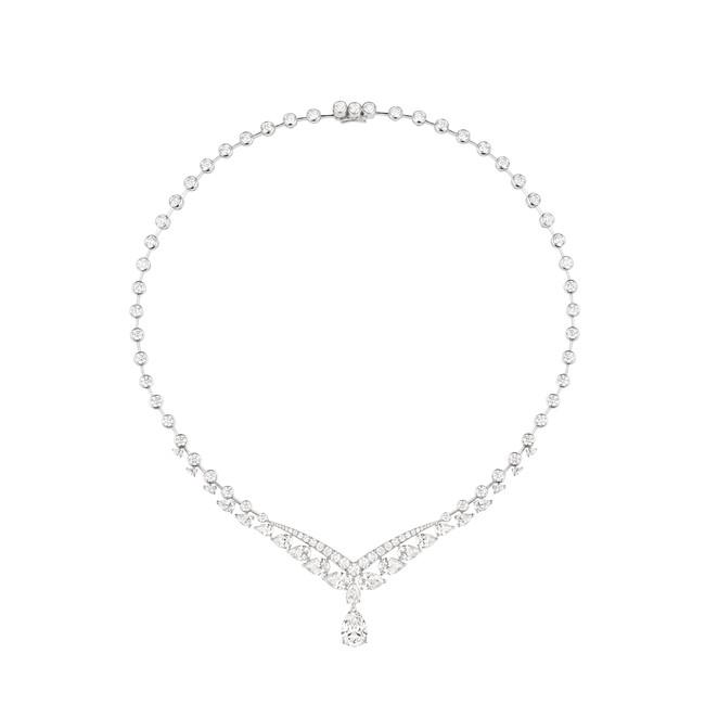 「ジョゼフィーヌ」コレクション ヴァルス アンペリアル ネックレス ¥32,890,000(税込・参考価格)