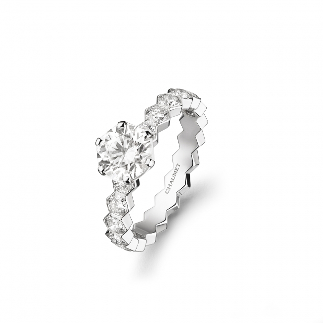「ビー マイ ラブ」コレクション ソリテールリング 3.5mm           (WG,ダイヤモンド1.01ct~) 2,397,600円~(税込価格)