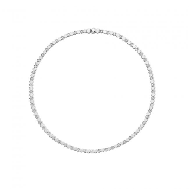 「ビー マイ ラブ」コレクション ネックレス (WG,ダイヤモンド) 2,710,000円(税抜価格)