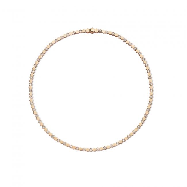 「ビー マイ ラブ」コレクション ネックレス (PG,ダイヤモンド) 2,570,000円  (税抜価格)