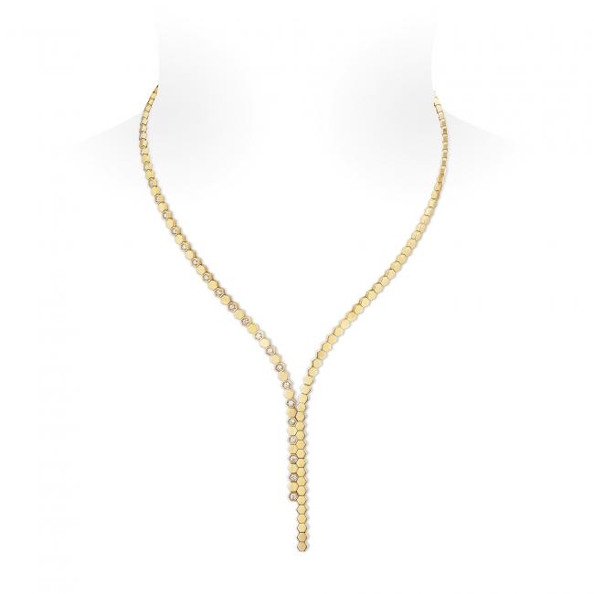 「ビー マイ ラブ」コレクション ネックレス (PG,ダイヤモンド)   2,920,000円(税抜価格)