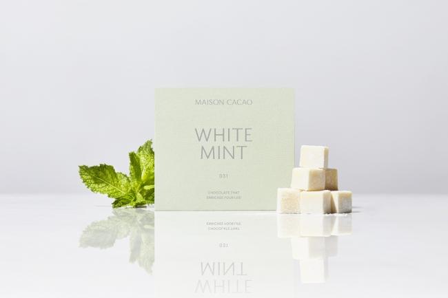 アロマ生チョコレート WHITE MINT