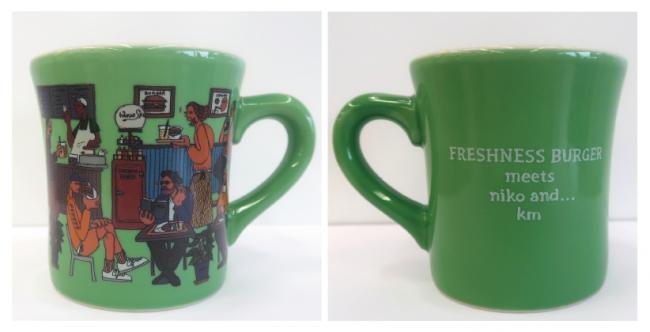 コラボマグカップ(Green)