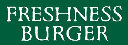 FRESHNESS BURGERロゴ