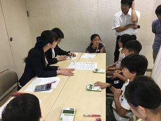 子ども起業塾の様子(画像提供:板橋区立企業活性化センター)
