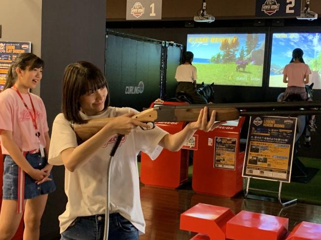 レジェンドスポーツヒーローズ イオンモール沖縄ライカム アンバサダー「Lollipop」