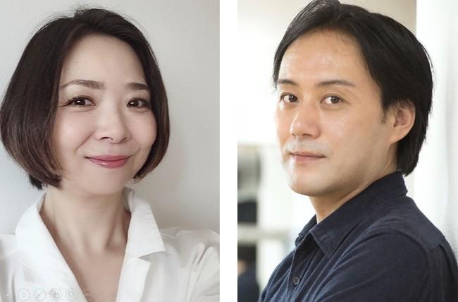 (写真左から)声優・佐々木優子さん、演出家・野坂実さん