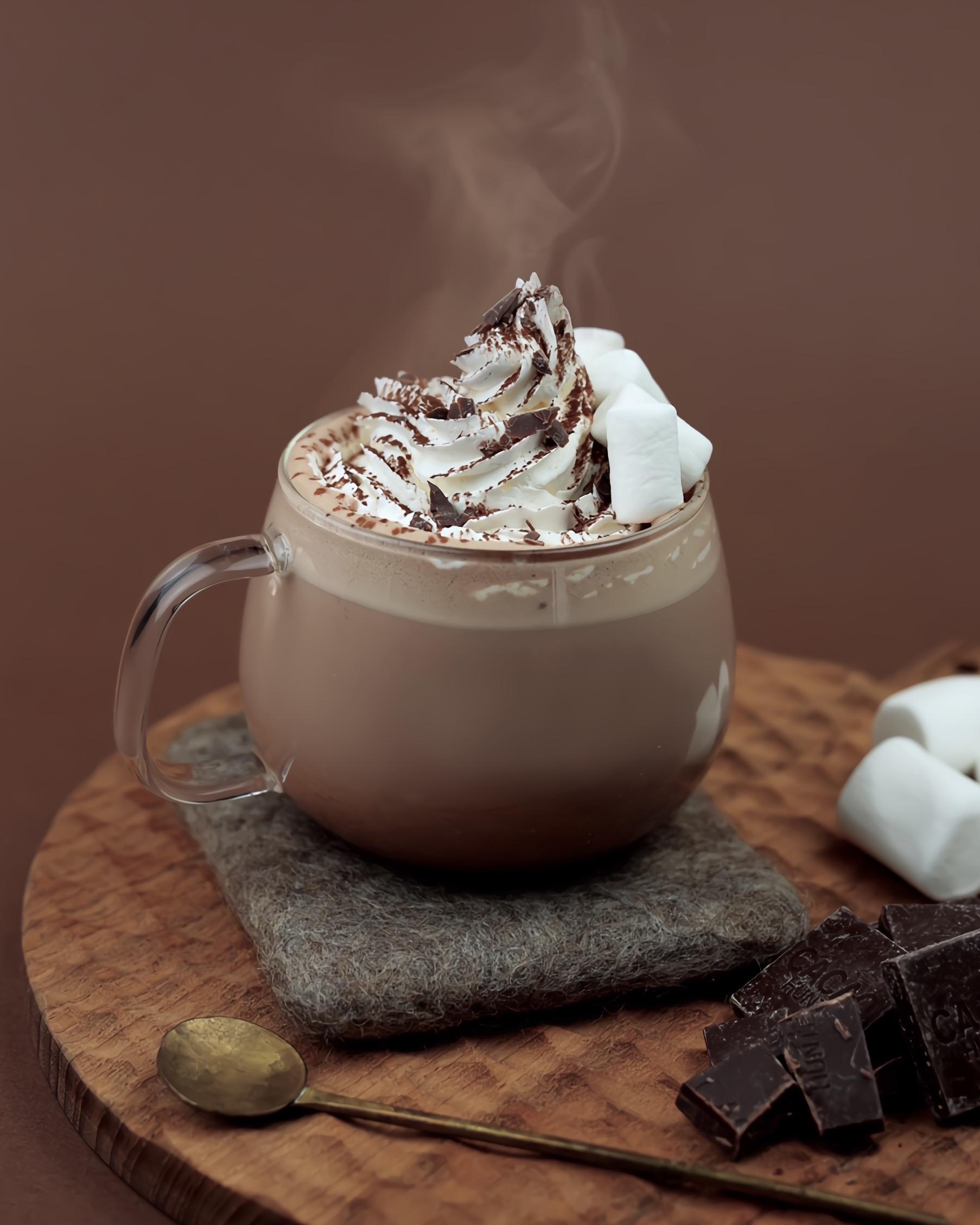 レシピ ホット チョコレート