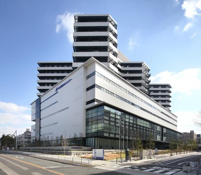 大阪国際がんセンター外観