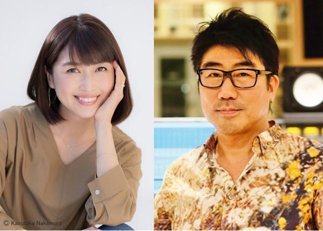 左:新妻聖子、右:亀田誠治