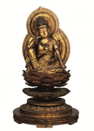 重要文化財「如意輪観音坐像」平安時代、醍醐寺蔵、画像提供:奈良国立博物館、撮影:森村欣司