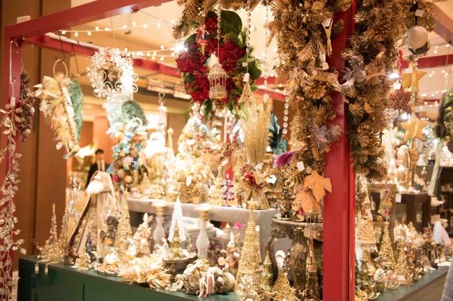 昨年のクリスマスマーケットの様子