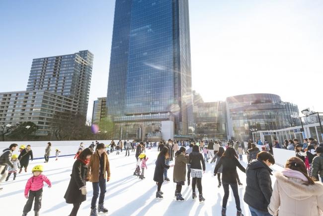 都会で楽しめるアイススケート