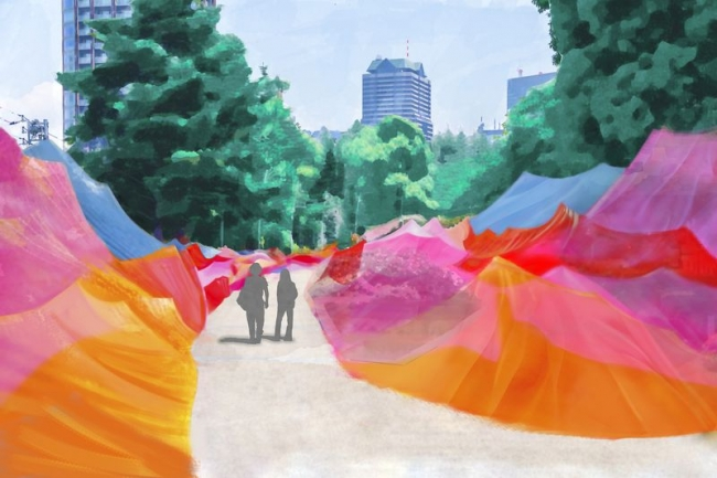 六本木カラー渓谷 (イメージ)