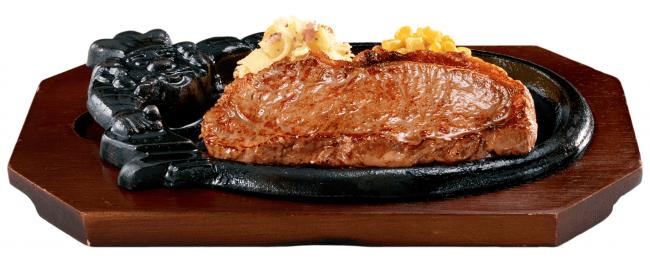 メニュー名:『炭焼き サーロインステーキセット』