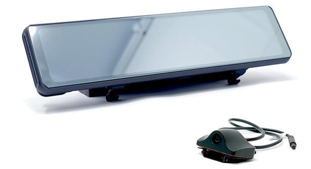累計2万台を突破した大型デジタルミラー型のドラレコ「ミラーカムR」