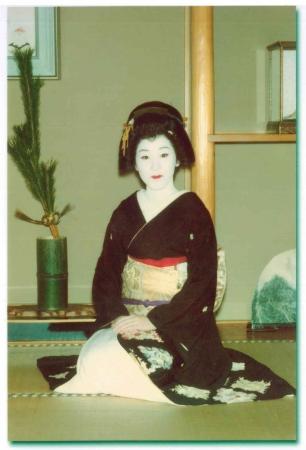 紅子先生の芸妓時代