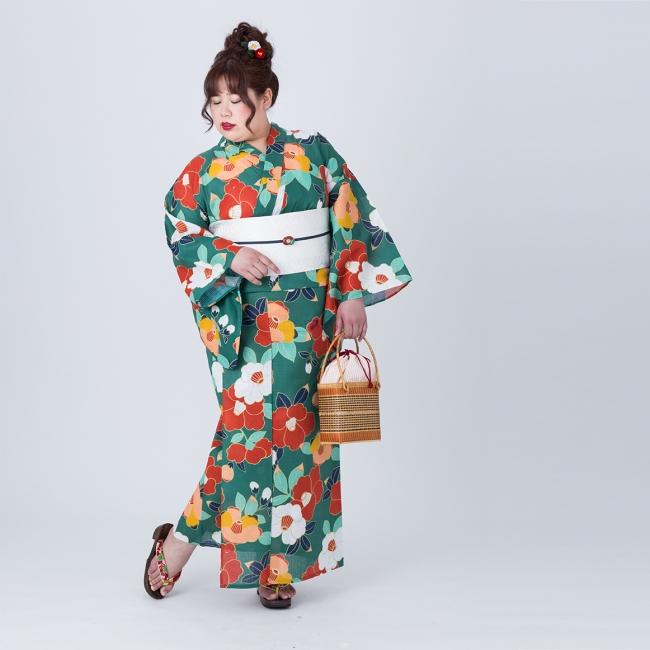 今年の人気No.1の 椿 緑 11,000円(税抜)