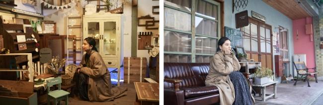 左より「旧濱田医院」、「N's Kitchen**&labo 」