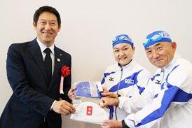 スポーツ庁の鈴木大地長官を表敬訪問しました