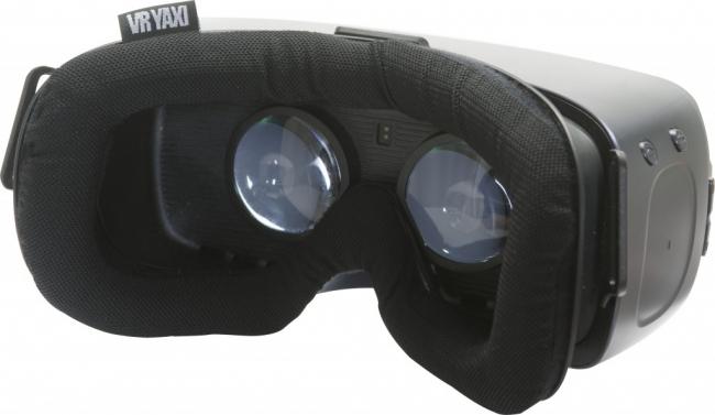 メッシュ素材を使用したGear VR用フェイスクッション