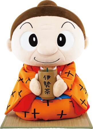 伊勢茶イメージキャラクター 茶柱タツ