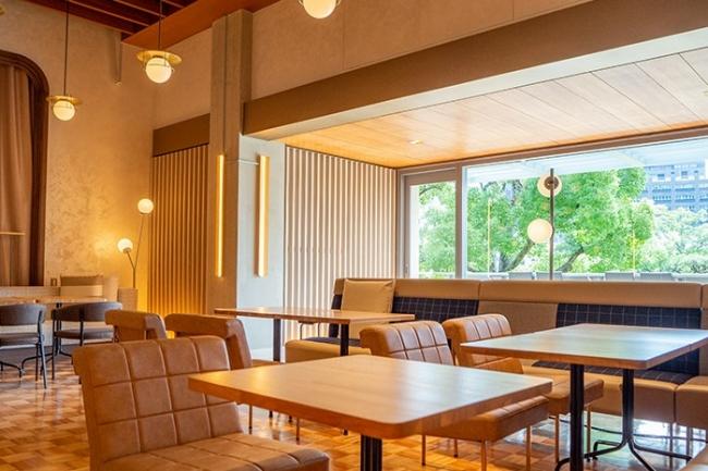 カフェ「相楽園パーラー」