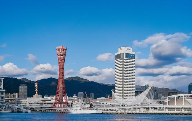 神戸ポートタワーとOCEAN PLACE