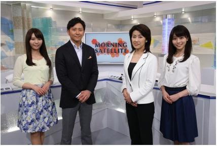 モーニング テレビ サテライト 東京
