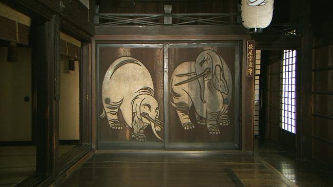 杉戸絵(白象図)