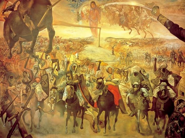 サルバドール・ダリ「テトゥアンの大会戦」
