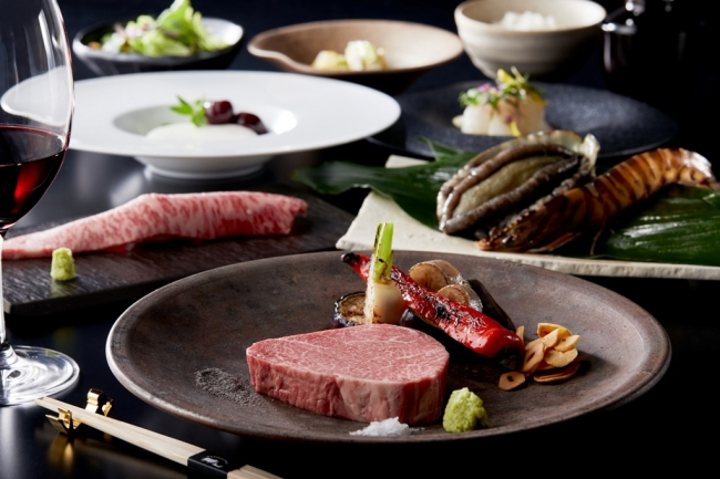 ニュー松坂のおいしさを贅沢に盛り込んだ料理長特選コース