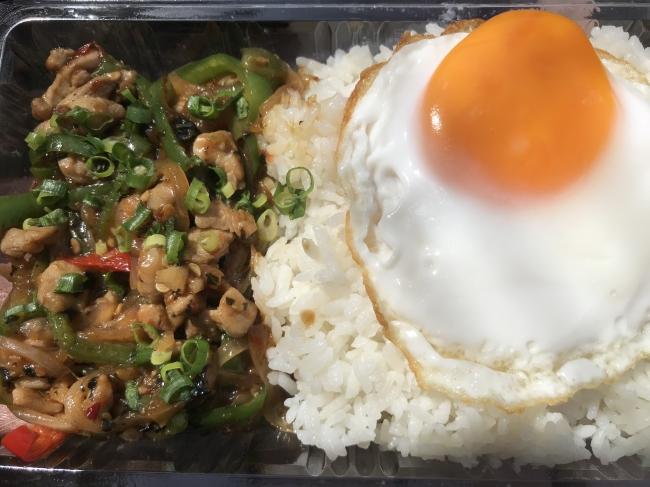 アジア系の料理(ガパオライス)