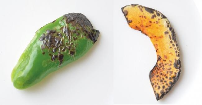 BBQで残った野菜もまとめて調理できます。