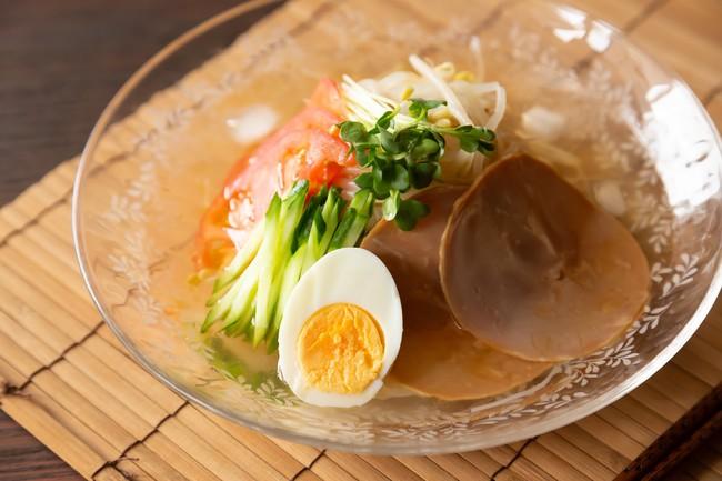 鶏がらスープで簡単 夏の冷やし汁ビーフン