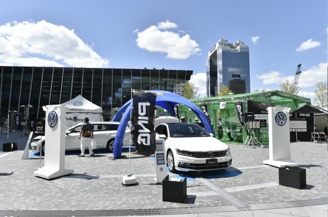 フォルクスワーゲン車両展示