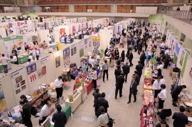 昨年(2018年)の国内外食品商談会の様子