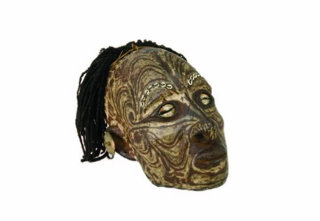 肖像頭蓋骨 レーマー・ペリツェウス博物館 ROEMER-UND PELIZAEUS-MUSEUM HILDESHEIM