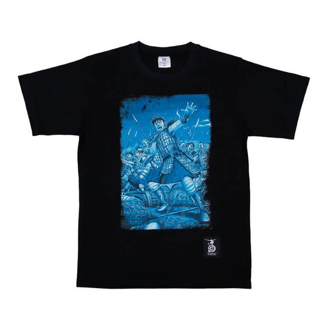 Tシャツ ブラック M・Lサイズ 各3,850円(税込) (C)︎原泰久/集英社