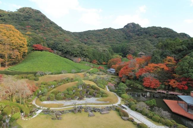 四季折々の風情を感じながら散策を楽しめる「慧洲園」