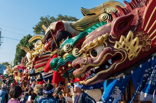 唐津神社の秋季例大祭「唐津くんち」