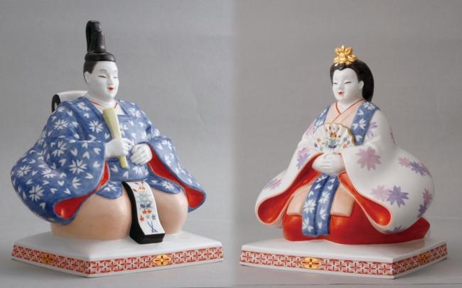 マイセン磁器製陶所製 雛人形