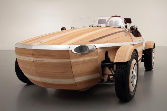 トヨタ木製コンセプトカー「SETSUNA」