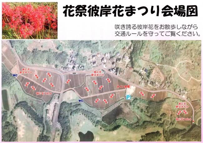 佐賀のへそ・江北町花祭地区で彼岸花まつり