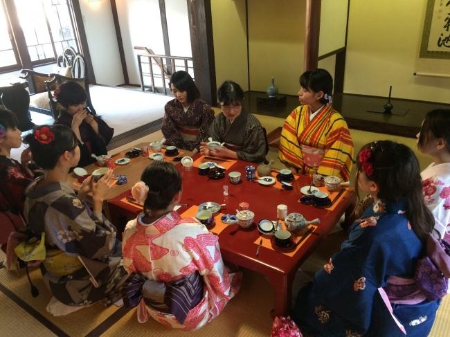 きもので女子旅(ハート)~和のセミナーで女子力アップ~
