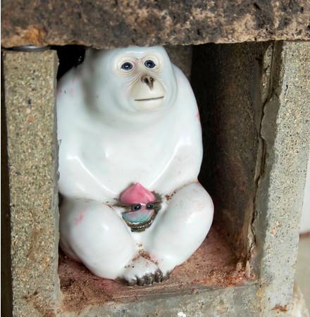 山王神社の猿のご神体「さんのんさん」