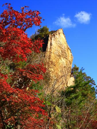 泉山磁石場の紅葉