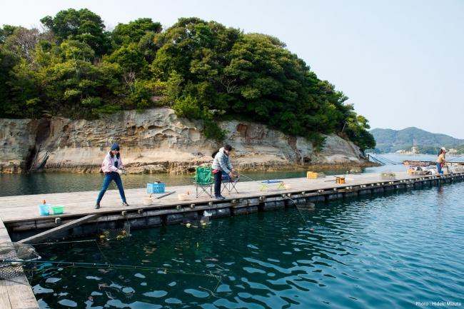 仮屋湾遊漁センター(佐賀県観光連盟 写真:水田秀樹)