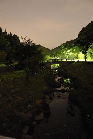 武雄温泉保養村「ほたる祭り」